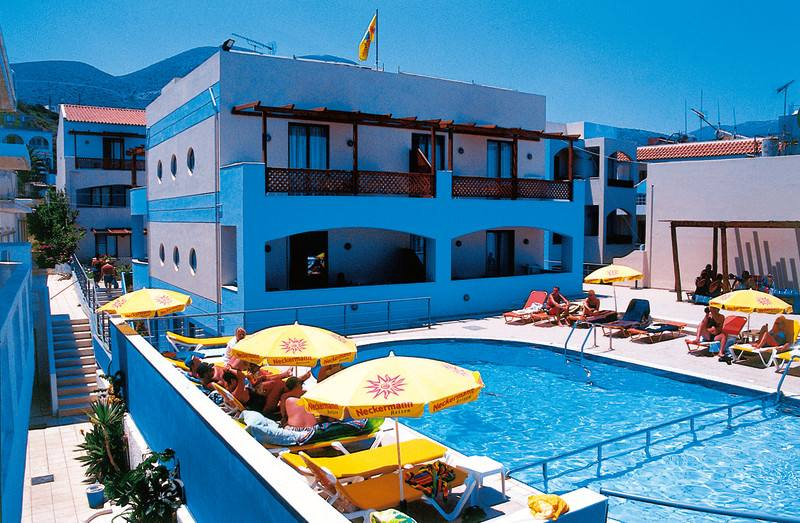 Appartementen Eleni Beach - Stalis - Heraklion Kreta